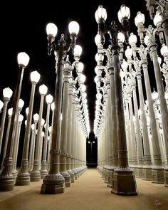 Chris Burden's Lights Three