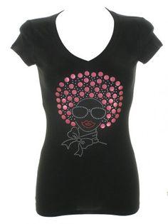 Black-Afro shirt