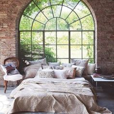 Window view of country Home Design Decor, House Design, Home Decor, Design Ideas, Decoration Design, Design Inspiration, Wall Design, Design Studio, Deco Design
