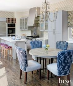 White Traditional Great Room with Eclectic Furnishings | LuxeSource | Luxe Magazine - The Luxury Home Redefined
