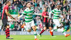 Celtic 3 Lincoln Red Imps First-half goal blitz sets up clash against Astana in Champions League qualifying - Daily Sports News & Live Stream Fotball Channel Patrick Roberts, Leigh Griffiths, Brendan Rodgers, Football Predictions, Shampoo For Thinning Hair, One Half, Celtic Fc, Sport Football, Soccer