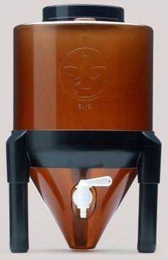 Brew Demon Conical Fermentor, 3 gallon ($35). I might have to buy one of these for my brew-in-a-bag batches! #homebrewing #beer
