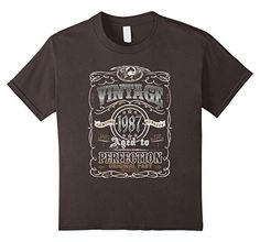 Vintage Made In 1987 Aged to Perfection - Birthday Shirt 29