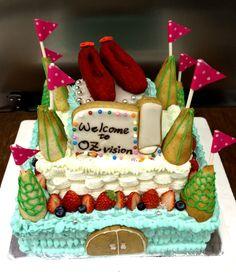 オズの魔法使い  三段ケーキ
