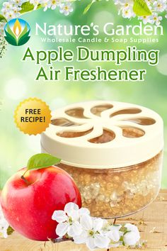 Free Apple Dumpling Air Freshener Recipe by Natures Garden