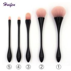 5pcs Make up Brushes Set Cosmetic Powder Eyeliner Eyeshadow Concealer Brush 2017 Hot CZXMY Makeup Tools 20sets/lot (YP0176)