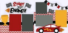 Start Your Engines! Page Kit