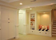 Clubhouse Drive Basement - transitional - basement - boston - OCO architectrure::design