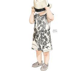 Jenna Kunnas – Tinylooks illustration