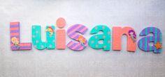 BUSCA KIWI KISSES EN FACEBOOK , WOODEN NURSERY DECOR LETTERS / nursery decor letters / Letras de madera para decorar ! DISEÑOS TOTALMENTE PERSONALIZADOS !on.fb.me/1hoS0Sr