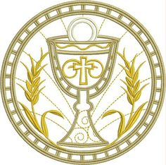 B O R D A D O S E R V I C E: PARAMENTOS LITURGICOS Easter Religious, Religious Art, Catholic Altar, Christian Symbols, Church Design, Lesage, Painted Letters, Corpus Christi, Communion