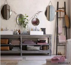 un courant d'air dans la maison: Miroirs à chainettes