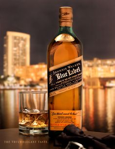 Johnny Walker Blue Label on Behance