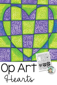 Op Art Hearts- Op Art Hearts Op Art Hearts is the perfect op art lesson for Valentines Day! This easy step by step instructions make it a great art sub lesson too! Line Art Lesson, Art Sub Lessons, Hero Crafts, 6th Grade Art, Principles Of Art, Valentines Art, Art Activities For Kids, Illusion Art, Art Lessons Elementary