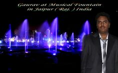At Musical Fountain Jaipur