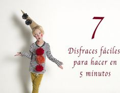 7 disfraces fáciles para hacer en 5 minutos Glass Bottle Crafts, Glass Bottles, Bff Gifts, Diy Costumes, Leather Craft, Diy And Crafts, Projects To Try, Crafty, Crochet