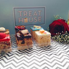 Got a sweet tooth? Treat yourself to some of our yummy treats!