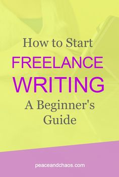 I started freelance writing in my first year of college. My first gig was as a weekly blog contributor for … Read More →