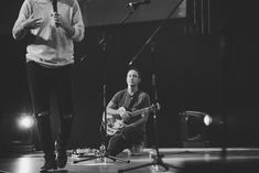 Behind the scenes photography of Jesus Culture Worship Tour 2018, Cape Town, South Africa. On set: Kim Walker-Smith and Chris McClarney.