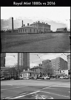 The Royal Mint Building, Melbourne. Places In Melbourne, West Melbourne, Melbourne Suburbs, Melbourne Victoria, Victoria Australia, Melbourne Australia, Then And Now Photos, Australian Continent, Broken Promises