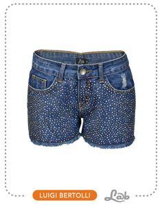 Shorts Aplique Pedrarias - Ref. 19.05.0009