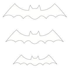 Moldes de morcegos para o halloween Boo Halloween, Moldes Halloween, Halloween Party Costumes, Halloween 2017, Disney Halloween, Halloween Comida, Hotel Transylvania Party, Bat Pattern, Fall Preschool