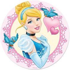 Buy the Cinderella cake print available in Round Cinderella Pictures, Disney Princess Pictures, Cinderella Birthday, Disney Princess Cinderella, Disney Pictures, Aladdin Princess, Princess Aurora, Princess Bubblegum, Disney Love