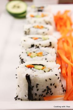 Vegetarian Sushi by Cooking with Thas