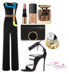 What to Wear to a Fashion Show by talkingwithtami on Polyvore featuring Dsquared2, Chloé, Peter Pilotto, Bobbi Brown Cosmetics, NARS Cosmetics and Terry de Gunzburg