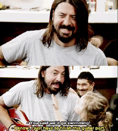 26 Things That Scientifically Prove That Dave Grohl Is The Coolest Dude In Music  Go on, try and n