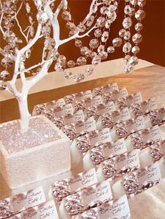 Centros de mesa para boda: Árboles como centros de mesa para boda