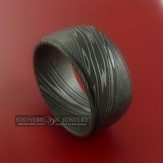 damascus steel ring. $248