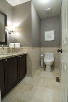 casual luxury contemporary bathroom