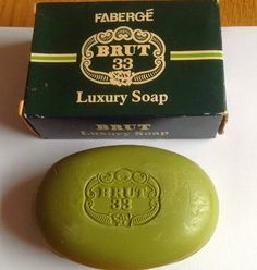 Brut 33 luxury soap bar (1970s)