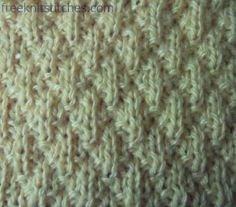 """""""Grater knitting stitches - so easy""""--or so they say.  I'll have to try it to be sure....I always find knitting patterns so confusing to follow. . . ."""