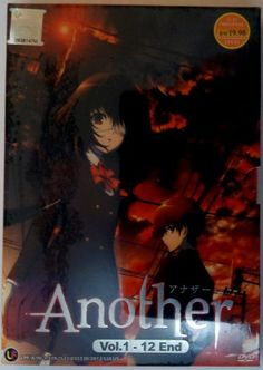 #anime Another - Anime TV Series - Complete DVD Box Set - Episodes 1-12  $19.50 + 15% off @eggplasteranime @bonanzamarket