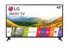 "Smart TV LED 43"" LG 43LJ5500 Full HD 2 HDMI 1 USB Preto"