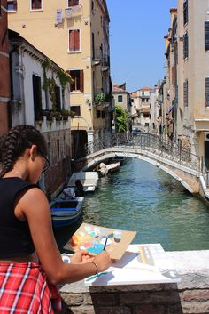 Painting Courses, Art Courses, Venice Painting, Creative Workshop, Drawing Lessons, Children And Family, Plein Air, Venice Italy, Art School