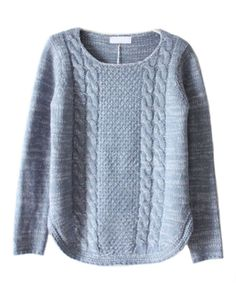 Ive always wanted to make my own sweater because i can say that it was by me