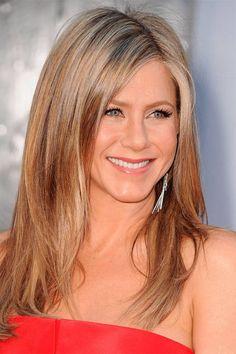 The best hair in America: Jennifer Aniston's golden blonde