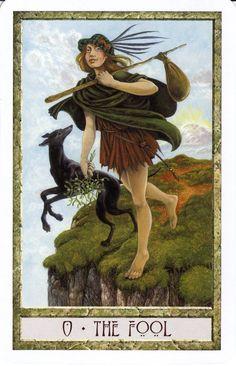 The Fool - Druid Craft Tarot #tarotcardshowtoread