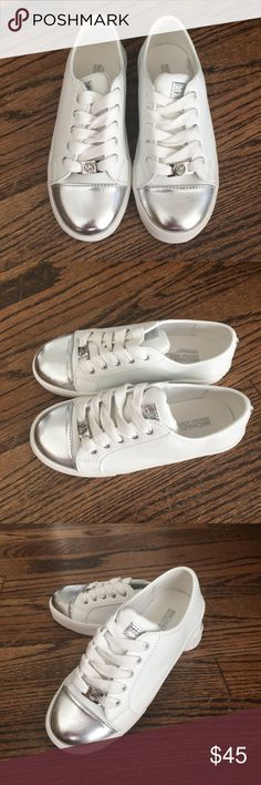 NWOT Michael Kors girl sneakers NEW never worn Michael Kors girl sneakers size 13. Great for school! Michael Kors Shoes Sneakers
