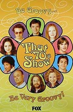 That '70s Show is an American television period sitcom that centers on the lives of a group of teenage friends living in the fictional suburban town of Point Place, Wisconsin. The show addressed social issues of the 1970s such as feminism, sexual attitudes, generational conflict, the economic hardships of the 1970s recession, mistrust of the American government by blue-collar workers, and teenage drug use. It's absolutely hilarious, with each character perfectly cast. Sooooo Seventies...
