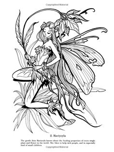 https://www.etsy.com/listing/189104387/fairy-coloring-book-4-by ...