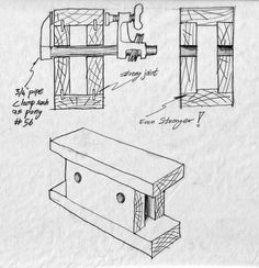 Bench Bull hollow block