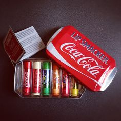 coca-cola lipsticks