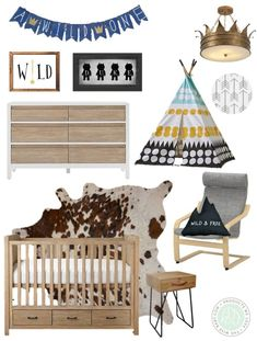 where the wild things are nursery inspiration