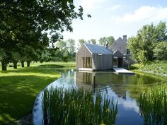 Refuge by Wim Goes Architectuur // House Extension in Belgium.