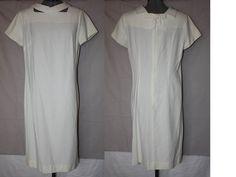 Vintage White Dress by Toni Todd 1950's Era by ilovevintagestuff
