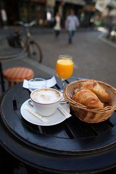 Un buen desayuno.